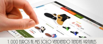 Cómo ganar 1000 euros al mes vendiendo solo 3 tiendas virtuales 400x170 c Franquicia diseño web
