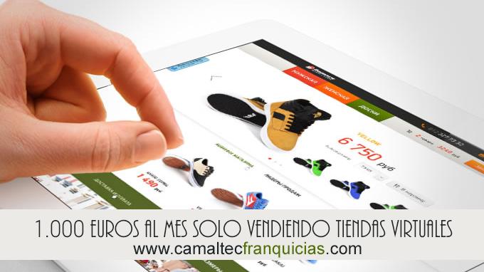 Cómo ganar 1000 euros al mes vendiendo solo 3 tiendas virtuales Diseño logotipo Marca Blanca