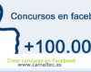 Crear concurso en Facebook 100x80 c Gestión de redes sociales