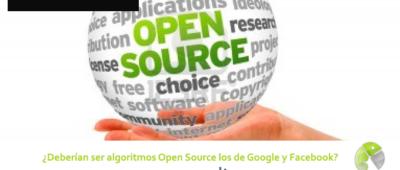Deberían ser algoritmos Open Source los de Google y Facebook 400x170 c Franquicia diseño web