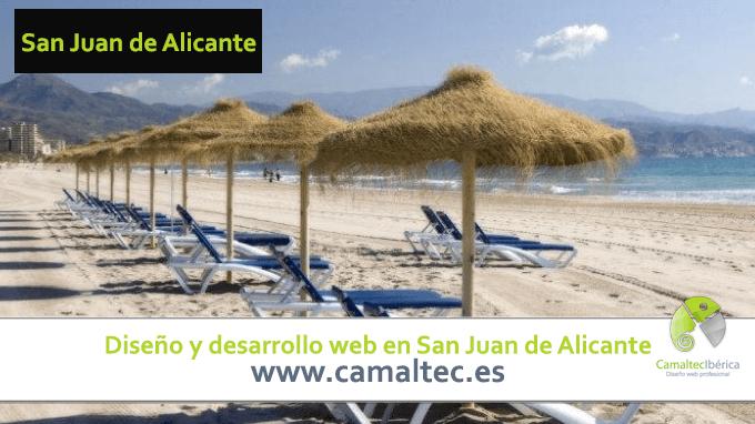 Diseño y desarrollo web en San Juan de Alicante Diseño y desarrollo web en San Juan de Alicante