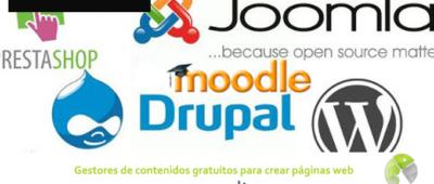 Gestores de contenidos gratuitos para crear páginas web 400x170 c Franquicia diseño web