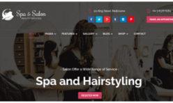 Estilo diseño web para peluquerías 20