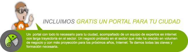 portal ciudad gratis Diseño Web Marca Blanca