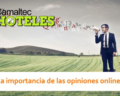 La importancia de las opiniones online 400x320 c Hoteles
