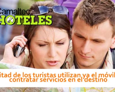 La mitad de los turistas utilizan ya el móvil para contratar servicios en el destino 400x320 c Hoteles