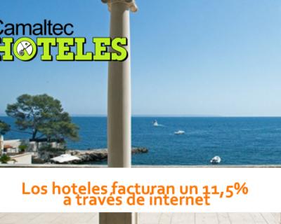 Los hoteles facturan un 11 a través de internet 400x320 c Hoteles