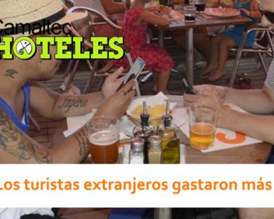Los turistas extranjeros gastaron más 400x320 c Hoteles
