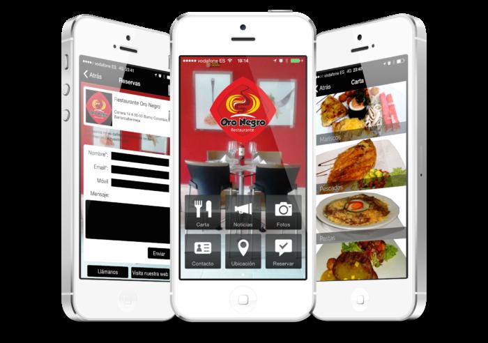 app para restaurante 2 Restaurantes
