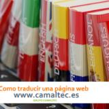 Como traducir una página web 160x160 c Traducción de páginas Web
