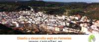 Diseño y desarrollo web en Ferreries 200x85 c Franquicia diseño web