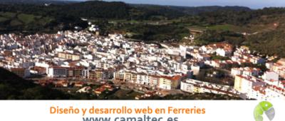 Diseño y desarrollo web en Ferreries 400x170 c Franquicia diseño web