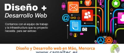 Diseño y Desarrollo web en Máo Menorca 400x170 c Franquicia diseño web