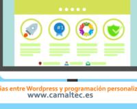 Diferencias entre Wordpress y programación personalizada 200x160 c Diseño Web a medida