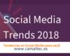 Tendencias en Social Media para 2018 100x80 c Gestión de redes sociales