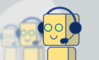 Chatbots contra CallCenters 140x85 c Telemarketing en Alicante   Call center en Alicante
