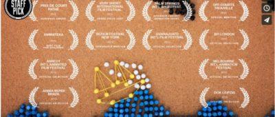 A GIRL NAMED ELASTIKA Un vídeo stop motion realizado con chinchetas y gomas elásticas IMPRESIONANTE 400x170 c Franquicia diseño web