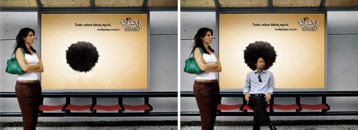 Creatividad en paradas de autobús 2 Creatividad en paradas de autobús