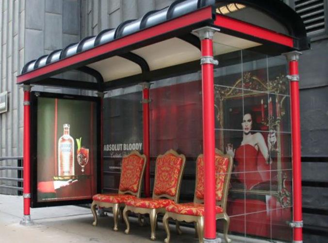 Creatividad en paradas de autobús 3 Creatividad en paradas de autobús