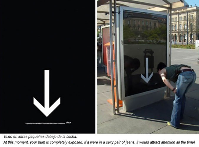 Creatividad en paradas de autobús 8 Creatividad en paradas de autobús
