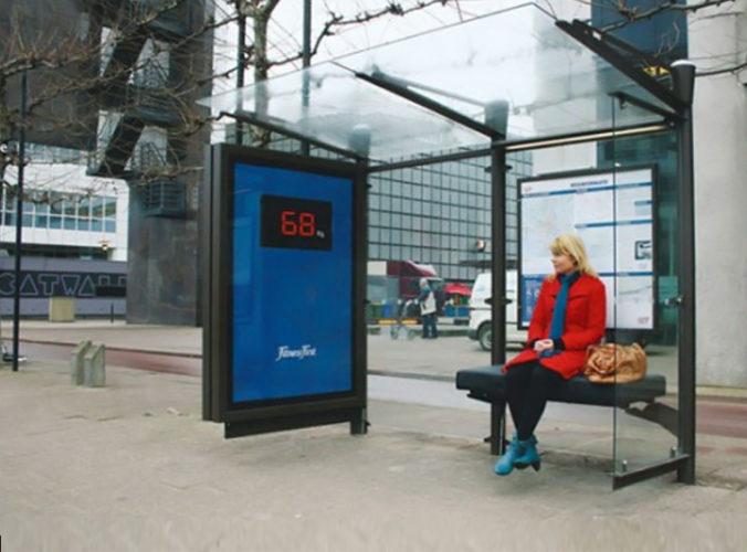 Creatividad en paradas de autobús 9 Creatividad en paradas de autobús
