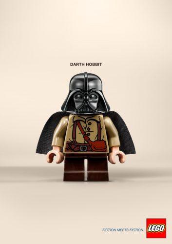 Fiction Meets Fiction 2 Fiction Meets Fiction. Divertido mashup de LEGO para su nueva campaña