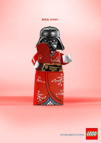 Fiction Meets Fiction 3 Fiction Meets Fiction. Divertido mashup de LEGO para su nueva campaña