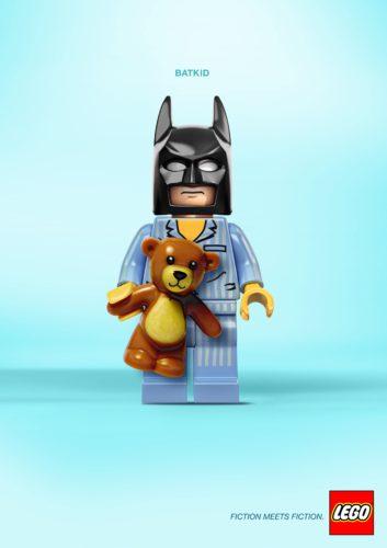 Fiction Meets Fiction 4 Fiction Meets Fiction. Divertido mashup de LEGO para su nueva campaña