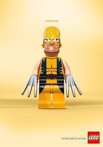 Fiction Meets Fiction 5 Fiction Meets Fiction. Divertido mashup de LEGO para su nueva campaña