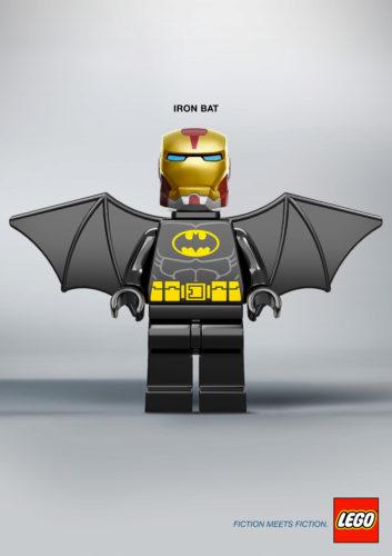 Fiction Meets Fiction 6 Fiction Meets Fiction. Divertido mashup de LEGO para su nueva campaña