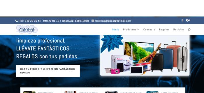 diseño web empresa limpieza Grupo Camaltec lanza la web Mareva.es