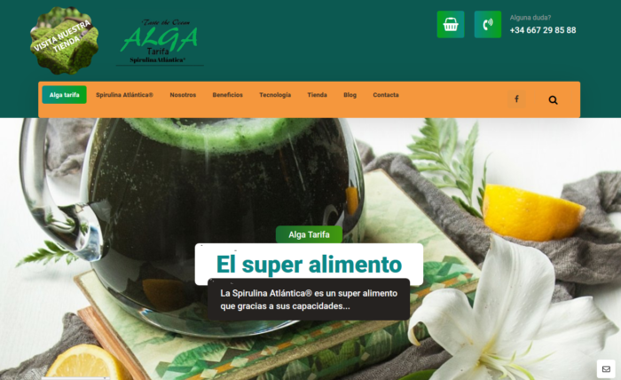 algatarifa Diseño Web Tarifa