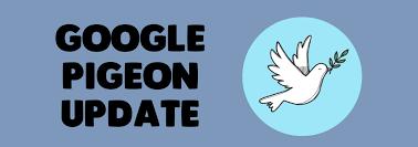Google Pigeon y las búsquedas locales Google Pigeon y las búsquedas locales