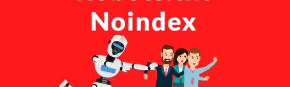 Google deja de lado al noindex en el archivo robots.txt