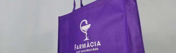 ¿Cómo cobrar las bolsas en la farmacia?