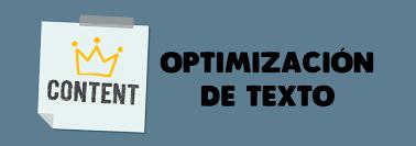 optimizacion textos seo 1 Cómo optimizar el contenido para que nos mejore el SEO