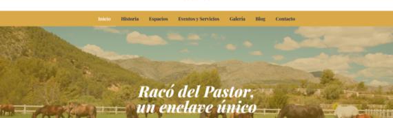 RacodelPastor.com nuevo diseño web. Salón de eventos en alicante.